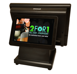 Customer display on your POS terminal provides extensive promotional opportunities