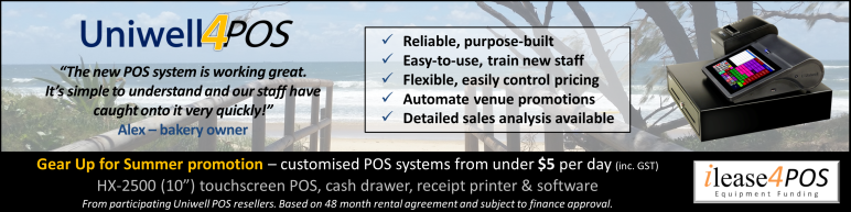 Gear Up for Summer Uniwell POS systems for cafe bakery bar fast food #uniquelyuniwell #uniwell4pos